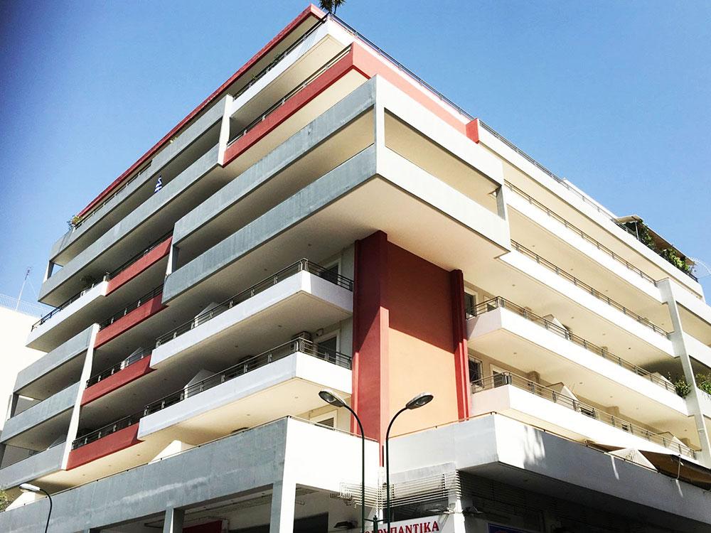 Zografou Building Apartments