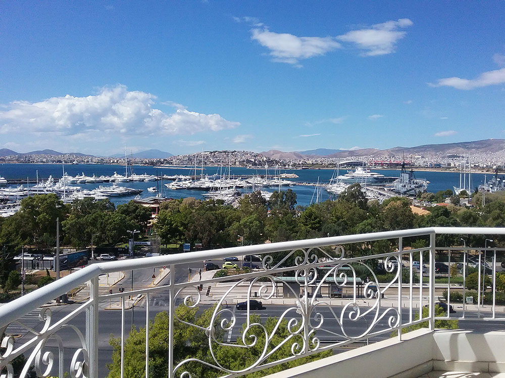 Penthouse with sea view in Faliro Area, Athens